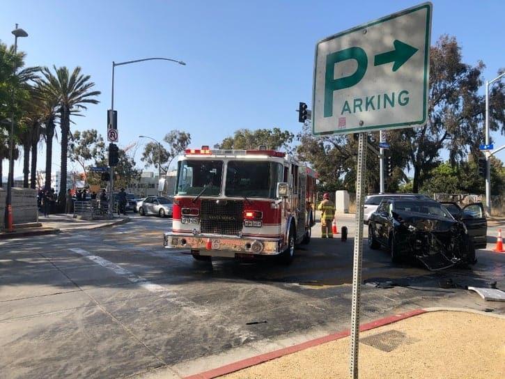 Crash Protest Santa Monica